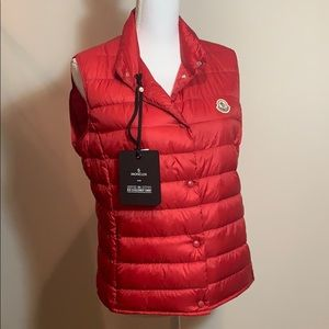 Moncler - Red Liane Quilted Puffer